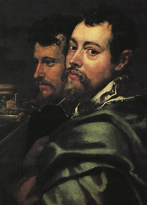 wycherley:  Peter Paul Rubens (1577–1640), Rubens and his Mantuan Friends (detail), ca. 1600-8