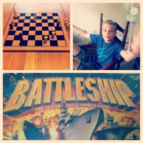 Board games kind of day! (Taken with Instagram)