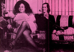 thedoppelganger:  Divine and John Waters