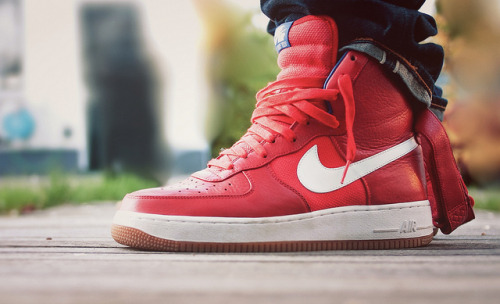 psychot-c:  (by Rogier Mulder)  Nike Air Force 1 High Bobbito
