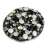 glitterizestyle:  Big Jeweled Buttons in Fashion According to Vogue Vogue reported in its August issue that high-fashion labels including Louis Vuitton and Chanel are bringing back oversized jeweled buttons, which were popular over 20 years ago. You can create your own using Creative Clay and a large button. What will you bedazzle with an oversized button?