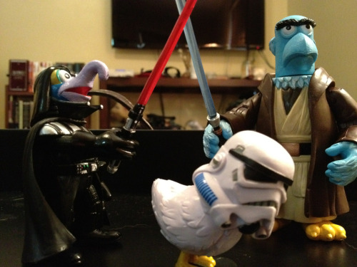 Also…Sam the Eagle Obi-Wan, Gonzo Darth Vader, and Camilla Stormtrooper.