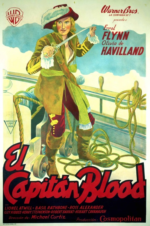 Films in 2012—#234 Captain Blood (Michael Curtiz, 1935)
