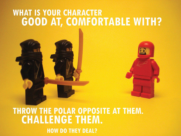 Pixar's Story Rules, Illustrated in Lego by ICanLegoThat on Slacktory.com We got Reddit favorite ICanLegoThat to illustrate Emma Coats' 22 Rules of Storytelling. He did an amazing job, with plenty more illustrations in the full post.