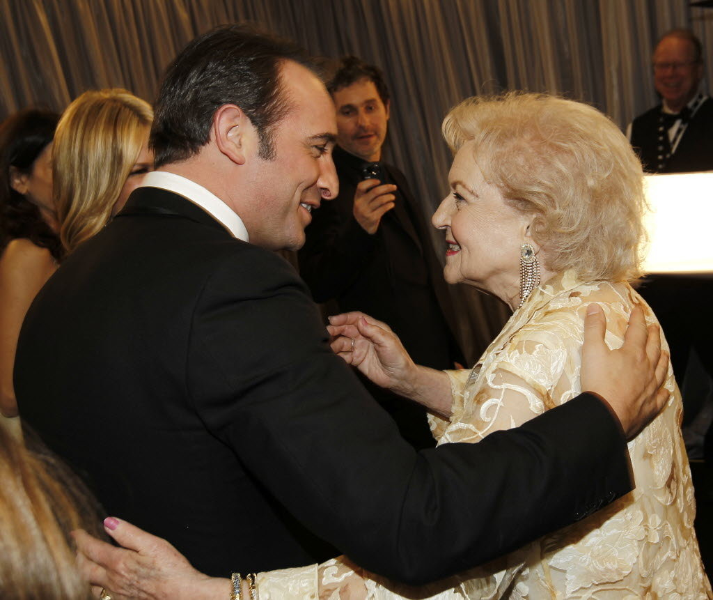 Its about time that I posted this.  Betty White & Jean Dujardin. I love this!