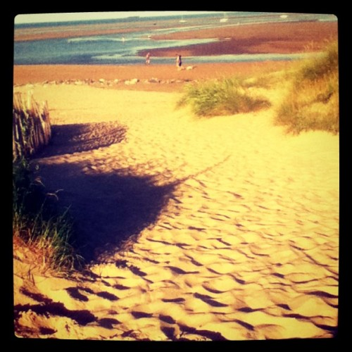 Trip down beach #summer #sand #loveit #2012 (Taken with Instagram)