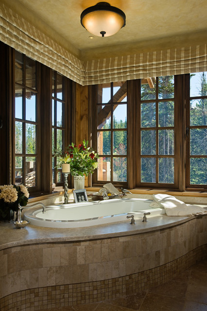 dyingofcute:  peaceful bathroom with relaxing view