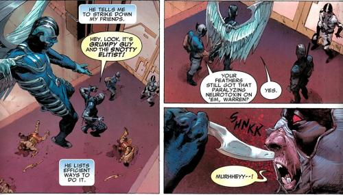 marveldcrockmyworld:  Uncanny X-Force #4