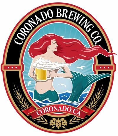 """ Coronado Brewing Company — Mermaid Logo "" ….. Beer Label"