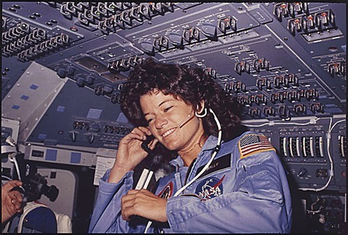 "thedailywhat:  RIP: Sally Ride, at 61: Sally Ride, the first American woman to fly in space, has died after a 17-month battle with pancreatic cancer. She was 61. In addition to flying for NASA — ""All adventures, especially into new territory, are scary,"" she once said – Ride was a physicist and a science writer. After retiring from space, she founded Sally Ride Science, an organization created to inspire young people, especially girls, to stick with their interest in science, and pursue careers in science and engineering. [sallyridescience]  -n"