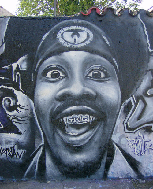 where-the-wild-vandals-are:  RZA by Flow TWE by FLOW TWE graffiti art on Flickr.