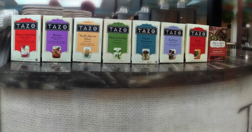Tazo All In A Row @javerde_coffee The Best Coffee In East Tennessee (Knoxville)