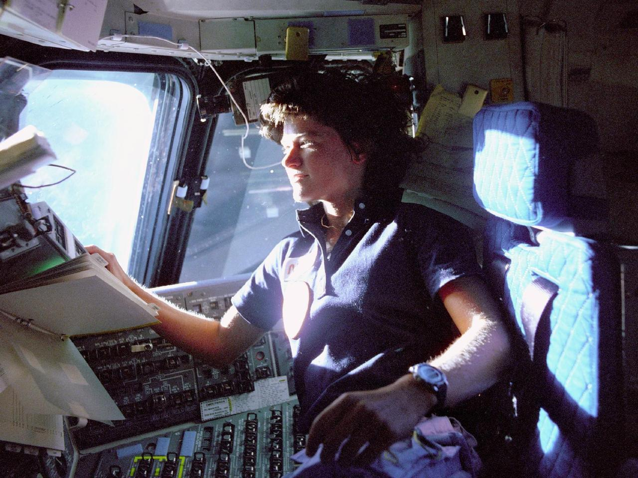R.I.P. Dr. Sally Ride, the first American woman in space, dead at 61 after battling pancreatic cancer. (Photo via WWFFM.org)