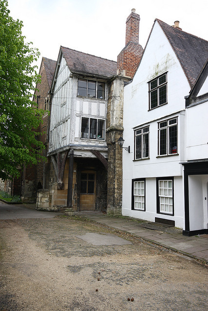 Gloucester, Miller's Green, Little Cloister House by Clanger's England on Flickr.