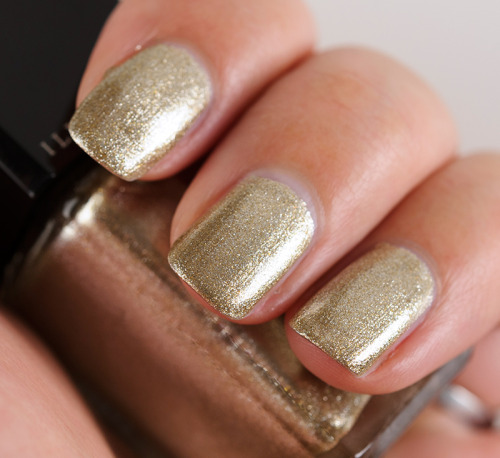 temptalia:  Metallic gold by Illamasqua — Swinger