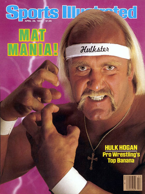 Sport Illustrated, Hulk Hogan - Pro Wrestling in the 80s