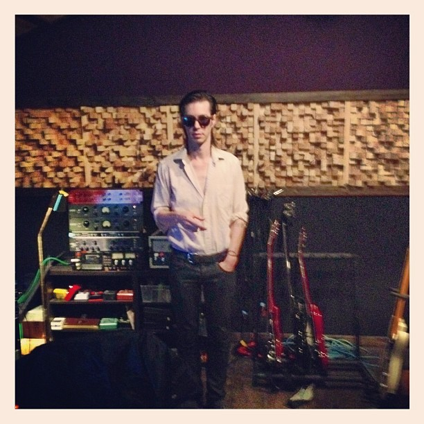 anniehardy:  The New Valley Recording Studio's. Go on Joe. (Taken with Instagram)