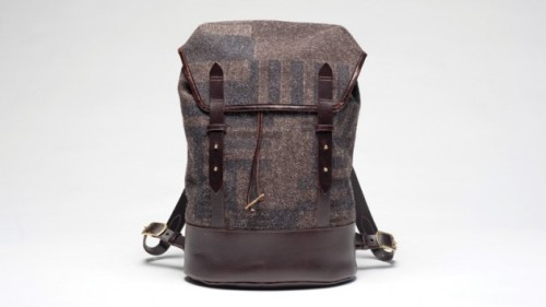 Cherchbi tweed backpack