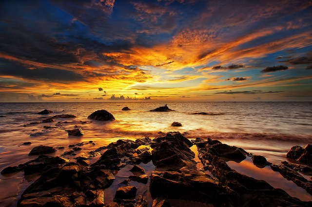 Sunset in Malaysia. —from Your top 20 bucket list trips (See the full list here)