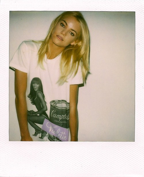Naomi Campbell tee as designed by Vashtie. Great contrast with this pic. The fly Black stance has influenced all parts of American society.