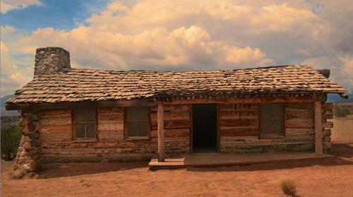 Cabin, The Chihuahuan Desert, New Mexico
