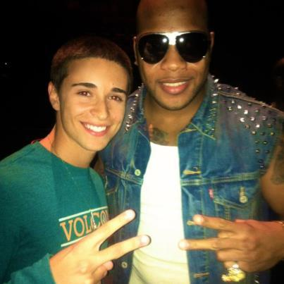 Chillin with Flo Rida!