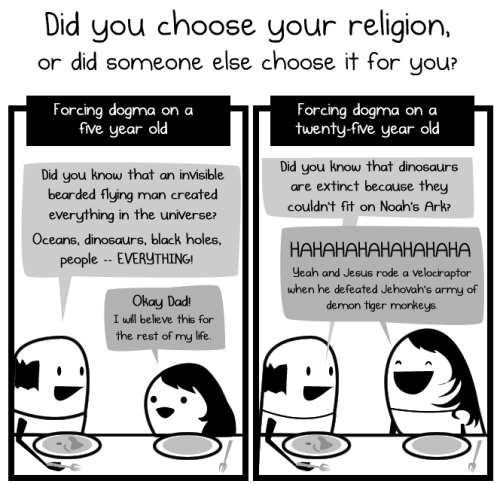 travors:  How to suck at your religion - The Oatmeal