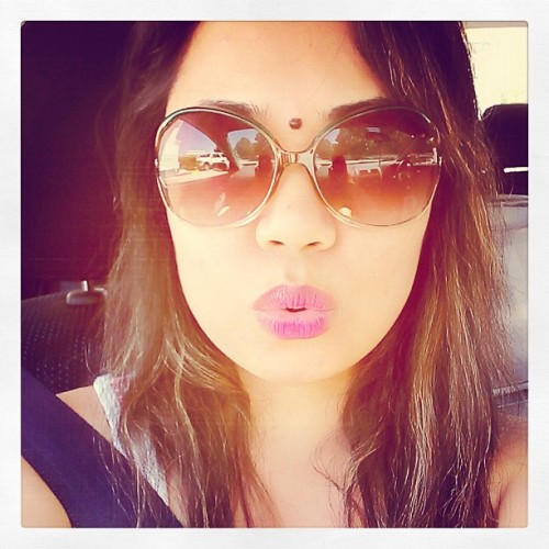 Running errands..ugh so hot!! #selfportrait #me #igers #instagramers #sunny #hotweather #hot #summer #day #afternoon  (Taken with Instagram)