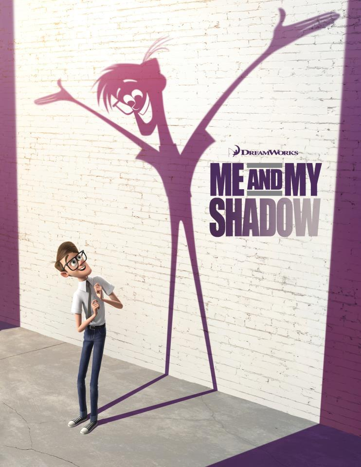 Me and My Shadow, which is out in spring of 2014, isa combination of CG and traditional hand drawn animation. There is a reason to tell the story in that fashion. It's about what would happen if your shadow, that has been following you around and basically just follows what you do your whole life, just stood up and took over. The shadows will be animated hand drawn, and the other characters will be CG animated. There is a reason to do it [hand drawn animation] that felt creatively interesting. -Bill Damaschke, DreamWorks Animation Chief Creative Officer  Follow [Me and My Shadow Facebook] for future Updates