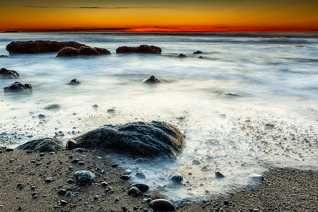 Rodeo Beach Sunset on Flickr.Via Flickr: Shot back in January. January was really the month I started taking Photography more seriously. I don't think I'll ever stop loving what I do though!  Buy Prints: tobyharriman.smugmug.com [www.tobyharriman.com] [facebook] [Google+] [Tumblr] [Twitter] [redbubble]View on Black © Toby Harriman all images Creative Commons Noncommercial. Please contact me before use in any publication.