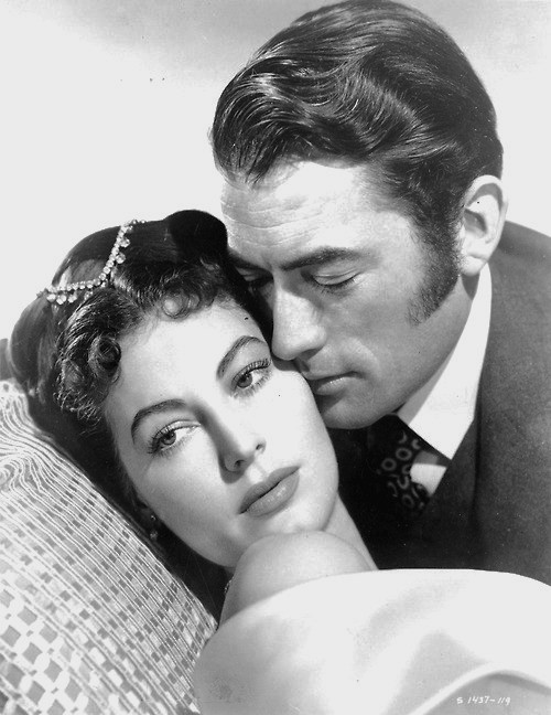 Greg with Ava Gardner.