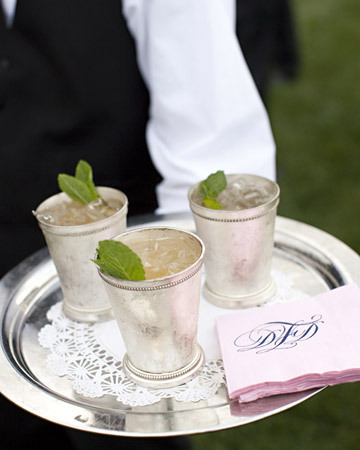 Juleps!  (via ido-dreams, Martha Stewart Weddings)