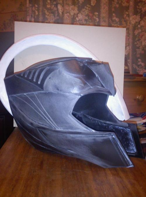 wyrd5ister:  HELMET!! WIP Finally something to show…very much work in progress