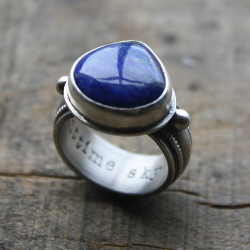nighttime sky ring by jessitaylor