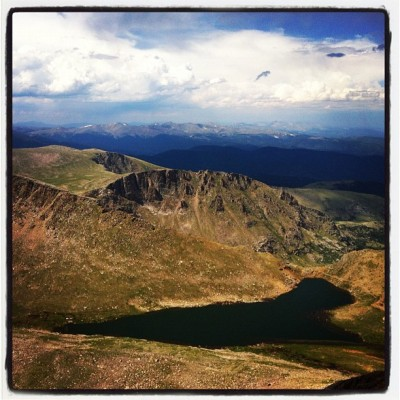 14,000 ft up. (Taken with Instagram)