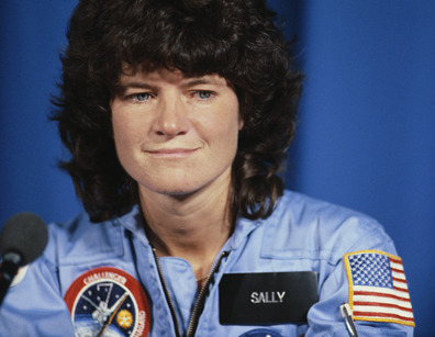 allthingsqueer:  YO not only was Sally Ride the first woman in space, she was also the first QUEER WOMAN!