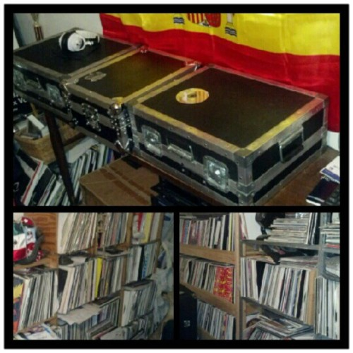 Djs Dream collection #records #vinyl #dj #music #hiphop #Ser_v1 #turntables (Taken with Instagram)