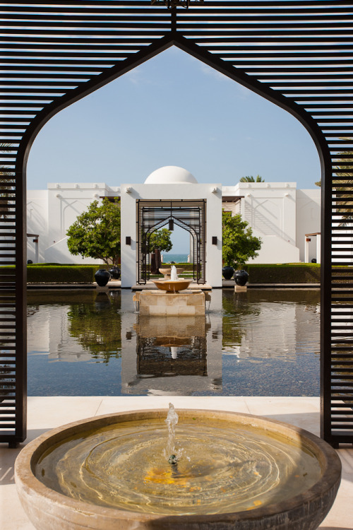 The Chedi hotel.  Muscat, Oman.