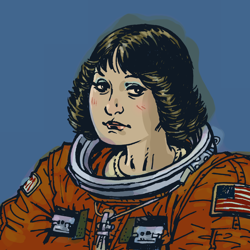 crookedindifference:  Sally Ride