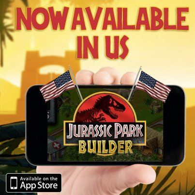 The Jurassic Park Builder iPhone and iPad game is now available in the U.S.  Grab it here!