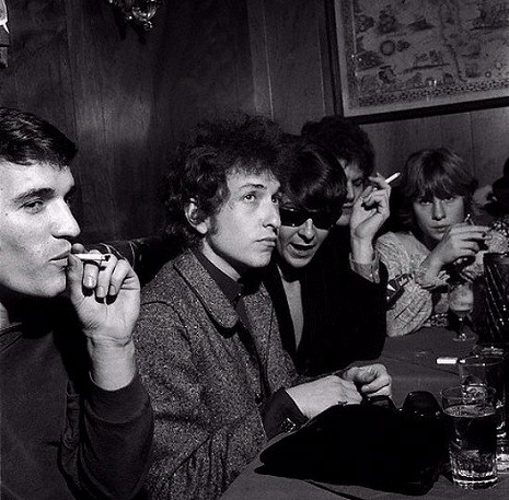 """Dylan and the Band in Austin, Texas - 1965"""