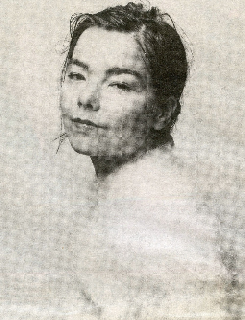 Björk, NME, 1994.  Photo: David Tonge