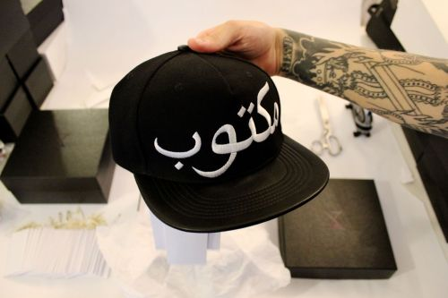 "hurryupstudio:  BLACKBOX 004 PRODUCT  ""Mekhtoub"" BRIM : 100% LEATHER TOP CAP : 100 % ACRYLIC WITH LEATHER COVERED PART PRICE : 60$ CAD AVAILABLE ONLY AT THE HURRY UP STUDIO5555 AVENUE DE GASPÉ, MONTREAL, H2T 2A3, QC, CANADA. FOR ANY INFORMATIONS CONTACT US :  +1 514 578 2981INFO@THEHURRYUP.COM"