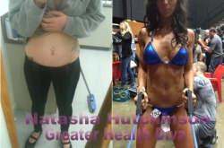 My stomach before and afters :)