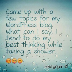 #thoughts #blogging #WordPress  (Taken with Instagram)