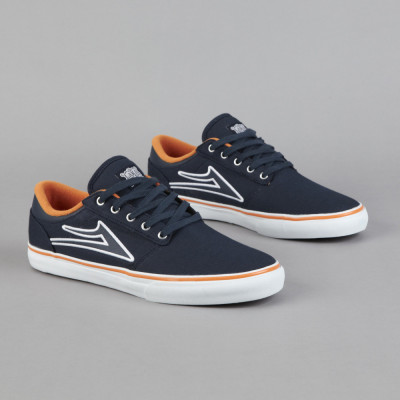 LAKAI BREA NAVY CANVAS very nice