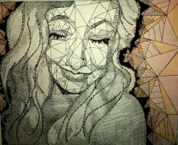 just-art:  by Victoria Sprankle   See the softness of her expression. Sweet!
