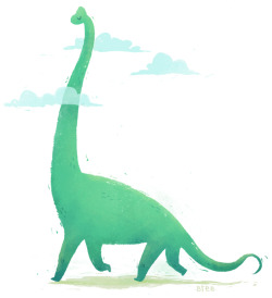 My friend breelundberg is fabulous :)  Brachiosaurus has got his head in the clouds.