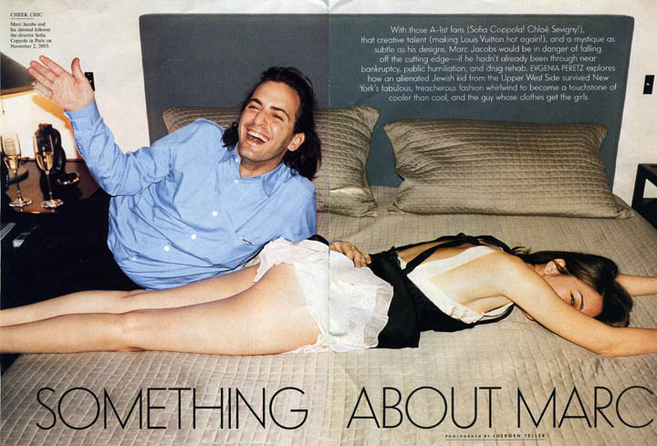 Marc Jacobs and Sofia Coppola photographed by Juergen Teller