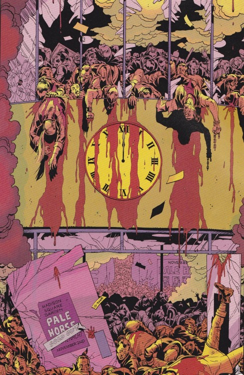 jthenr-comics-vault:  Doomsday Clock Strikes 12